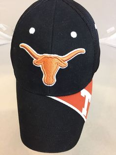 University of Texas Ball Cap UT Longhorns NCAA Licensed Hat One Size EUC #CaptivatingHeadgear #TexasLonghorns