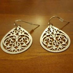 Beautiful silver earrings Brand new, never been worn silver earrings. Accessories