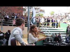 Ariana Grande High School Takeover | Schurr High School