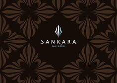 Branding of the five star luxury hotel, Sankara, from Glazer Brand & Design Consultants. It draws its inspiration from a zebras stripes, giving it an authentic african flavour. Logo Design Love, Luxury Logo Design, Web Design, Graphic Design, Design Ideas, Hotel Logo, Hotel Branding, Spa Logo, Luxury Branding