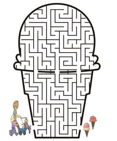 mazes to print | Maze Craze | Reflections of Pop Culture & Life's Challenges