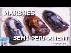 [TUTO] Marbrés en vernis semi-permanent - YouTube