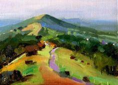 """Sunshine over the Malverns"" by Nigel Fletcher - http://www.nigelfletcher.co.uk/"