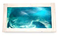 Golfo dei poeti #resin #art #sea #blu #water  Per richiedere info: pastorinogiada@gmail.com http://www.sanserif-storm.com/contact-us/