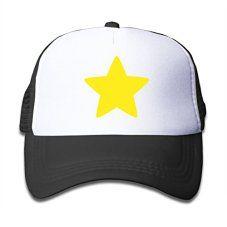 Elnory-Steven-Cool-Star-Child-Unisex-Sunshade-Hat-Black