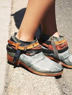 A.S.98 Triumph Distressed Boot at Free People Clothing Boutique $350