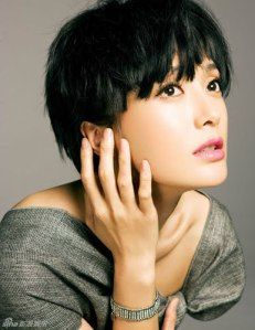 Actress Qin Lan wears short hair | China Entertainment News