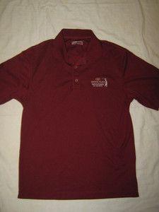 Mens 'Racing Green' Polo Neck T-Shirt T Shirt Red Medium Short Sleeve BNWT BN
