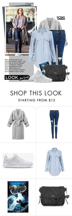 """Yoins: Celebrity Street Style For Less"" by beebeely-look ❤ liked on Polyvore featuring NIKE and Topshop"