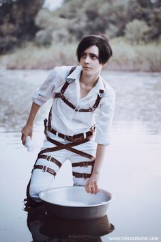 Levi Cosplay Made by A Handsome Russian Boy