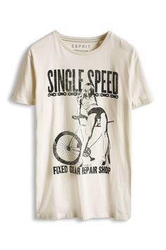 Davide Martini for Esprit - Jersey T-Shirt mit verschiedenen Prints im Online Shop kaufen Graphics by www.hero-parasite.com