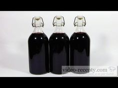 Sirup z černého bezu - videorecept - YouTube