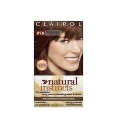 Clairol Natural Instincts Hair Color Double Espresso - 27A (Pack of 2) *** Click image to review more details.
