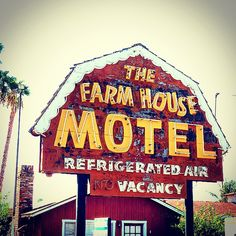 The Farm House Motel. Riverside, CA.