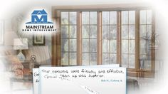 Mainstream Home Improvement has been voted the best in the Illinois Quad Cities Area for window installation, door installation, siding, gutter covers and roofing year after year. Call us for more information or a free estimate. 309-786-6244