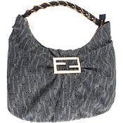 gray purse