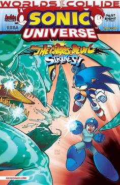 ON SALE TODAY: SONIC UNIVERSE #53. Get this title at your local comic shop! www.comicshoplocator.com