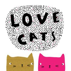 This is Gold #valentines #love #cats #CatIllustration