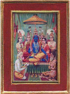 Hanuman, Krishna, Ravivarma Paintings, Raja Ravi Varma, Incredible India, Amazing, Lord Vishnu Wallpapers, Mughal Empire, Hinduism