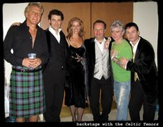 with the Celtic Tenors