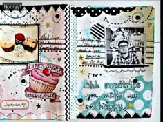 Art Journaling with Jenny & Aaron Class 5  I found them again....I couldn't remember their names LOL!