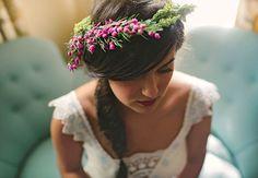 Bridal Hairstyle   Rebekah Murray Photography   blog.theknot.com