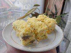 Posna slana torta sa prosom, meksičkom salatom i krastavčićima Posna Predjela, Posne Torte, Grains, Rice, Vegan, Breakfast, Food, Morning Coffee, Essen
