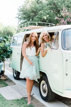 Fall in love with trendy, affordable, and designer quality bridesmaid dresses and separates by Revelry. Bridesmaid Tops, Unique Bridesmaid Dresses, Tulle Dress, Tulle Skirts, Chiffon Dresses, Vw Bus, Girl Standing, Sequin Gown, Ombre Color