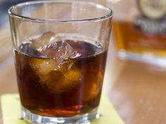 high time manhattan (whiskey, chartreuse, bitters, averna, carpano antica)