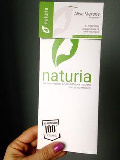 La brochure de Naturia Herbs, Personal Care, Personal Hygiene, Herb