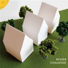 Cloth Paper Scissors Home Sweet Home Reader Challenge House Template - Media - Cloth Paper Scissors