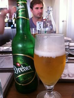 Hungarian Beer in #Sydney? Only a few have them: Café Gundel #Dreher