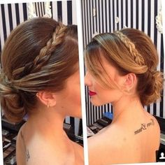 73 Easy Updo Hairstyles Step by Step for Long Hair 2020 - Trendy Queen : Leading Magazine for Today's women, Explore daily Fashion, Beauty & Lifestyle Tips Cute Prom Hairstyles, Easy Updo Hairstyles, Dress Hairstyles, Wedding Hairstyles, Quinceanera Hairstyles, Long Wavy Hair, Hair Clips, Your Hair, Short Hair Styles