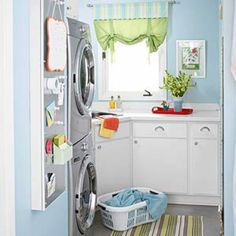 Totally should do this to my laundry room