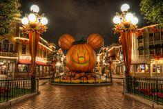 Halloween at Disneyland ♥
