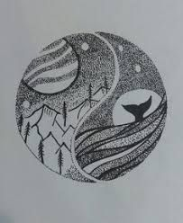 Image result for sea mountain drawing