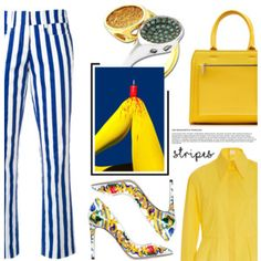 Anastazio-Strong Stripes: Graphic Striped Pants