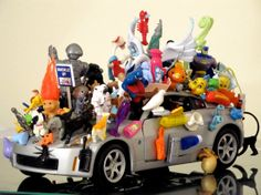 Noah's Car  Many Vintage Miniature by Timelessinmymind on Etsy, $130.00  GREAT GIFT FOR DAD