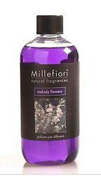 MILLEFIORI MILANO - RICARICA PER DIFFUSORE STICK  MELODY FLOWERS 500 ML