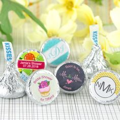 Personalized Wedding Hershey's Kisses - by Beau-coup