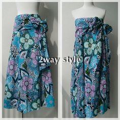 Asian MaxiSkirt & Dress -Sky Beauty Blue-  http://naturaleeza.com/?pid=57544672