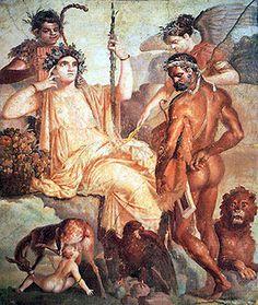 Herakles and the Infant Telephos Roman fresco copy of Greek painting, century AD, Herculaneum, Italy Rome Antique, Art Antique, Roman History, Art History, Ancient Rome, Ancient Art, Greek Paintings, Roman Paintings, Pompeii And Herculaneum