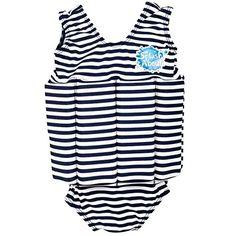 nice Splash About FSNS2 –  Traje de natación para niños, color azul / blanco, 2-4 años