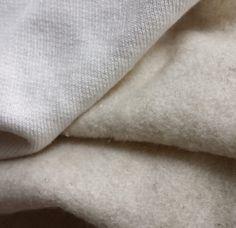Bambus-Hanf-Fleece-Stoff