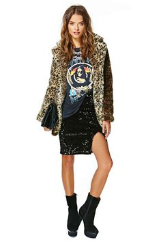 Midnight Run Sequin Skirt | Shop What's New at Nasty Gal
