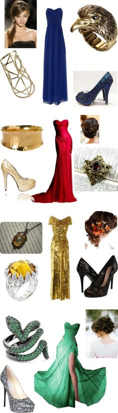 """""""Hogwarts Prom"""" by tatiana-topping on Polyvore"""