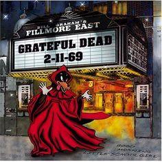 Grateful Dead - Fillmore East, Black