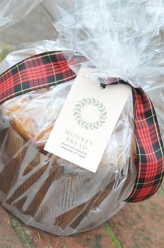 Monkey Bread...great holiday or hostess gift by Nine & Sixteen