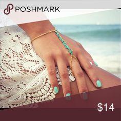 Hand Finger Bracelets & Bangles Charms Harness Blue Jewelry Bracelets