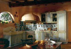Солнце юга Франции - стиль прованс на кухне